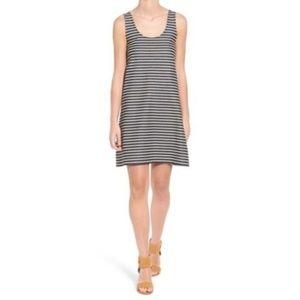 Madewell Striped Shift Tank Dress - Medium